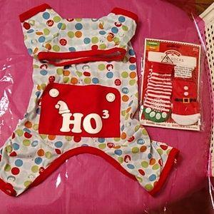 Dog Holiday Pajamas and Dog Socks
